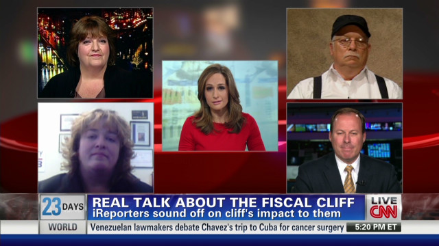 iReporters sound off on the fiscal cliff