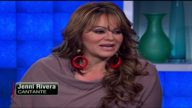 Jenni Rivera en CNN