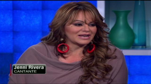 Jenni Rivera en CNN