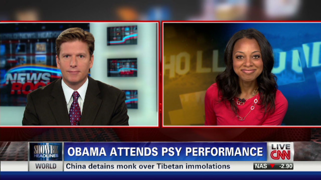 2012: Obama meets Psy