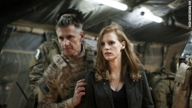 "In the new film ""Zero Dark Thirty,"" Jessica Chastain plays a CIA analyst who is part of the team hunting Osama bin Laden."