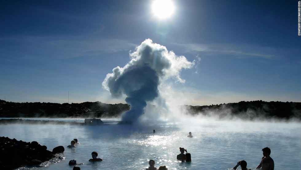 Iceland's famous Blue Lagoon, just outside Reykjavik, is set up for meetings and conferences. There are board rooms and theaters that can accommodate up to 90 guests.