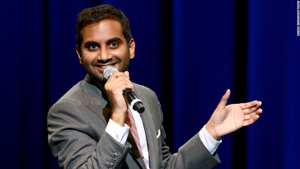 Aziz Ansari performs during the WE HATE HURRICANES: A Night of Comedy to Benefit Victims of Hurricane Sandy.