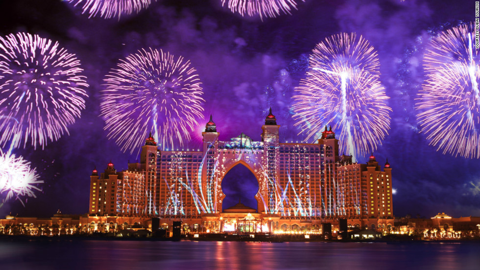 The Palm resort in Dubai will play host to the popular Sandance festival. This year's headline acts, Ellie Goulding, Rita Ora, Roger Sanchez and Paul Van Dyk, will entertain revelers into the early hours of 2013.
