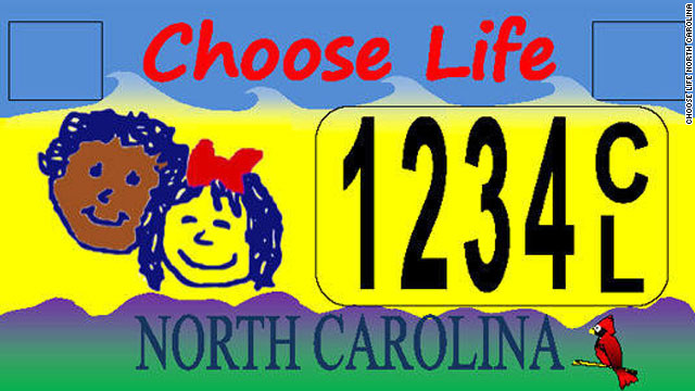 A federal judge in North Carolina has banned the state from issuing the specialized anti abortion 'Choose Life' license plates calling it unconstitutional.