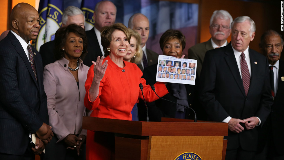 For the first time in the nation's history, women and minorities will hold the majority of the Democratic House seats, according to an analysis by Bloomberg News. Those members represent what is being called the new American electorate - a quilt of minority voters that is increasingly identifying with the Democratic Party while the GOP retains mostly white voters. The nation's changing electorate led Republicans to call for more outreach to wormen and minorities in the days following the election.
