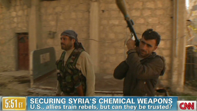 Securing Syria's chemical weapons