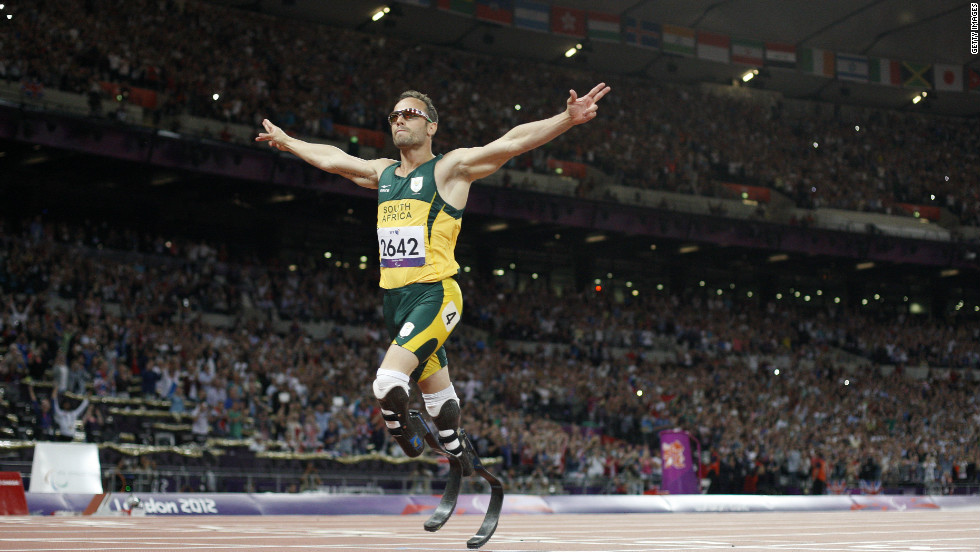 South African sprinter Oscar Pistorius, the first amputee to compete in the Olympic Games, will race a horse in Qatar on Wednesday. The one-off event is to show case the contributions made by disabled people.