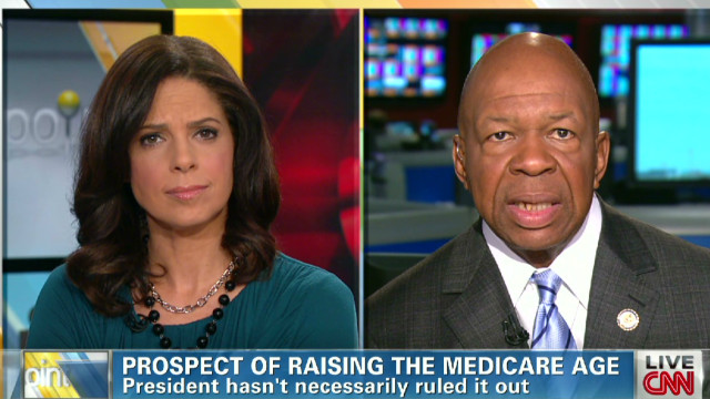 Rep. Cummings on raising Medicare age