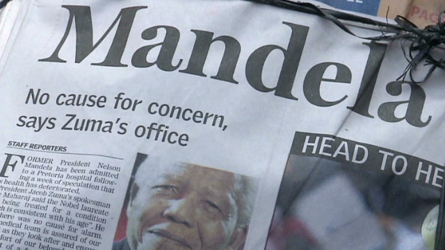 S. Africa quiet on Mandela's condition