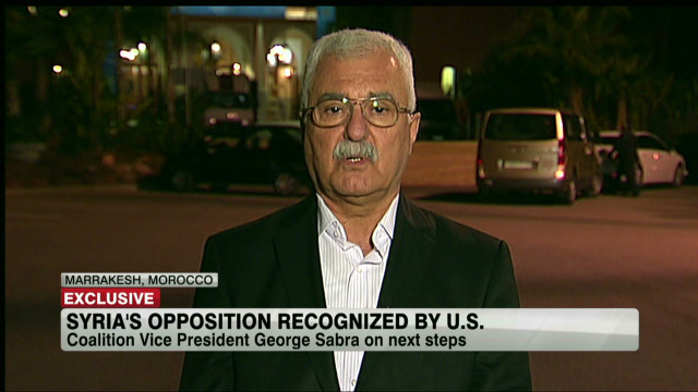 The Syrian Opposition Vice President