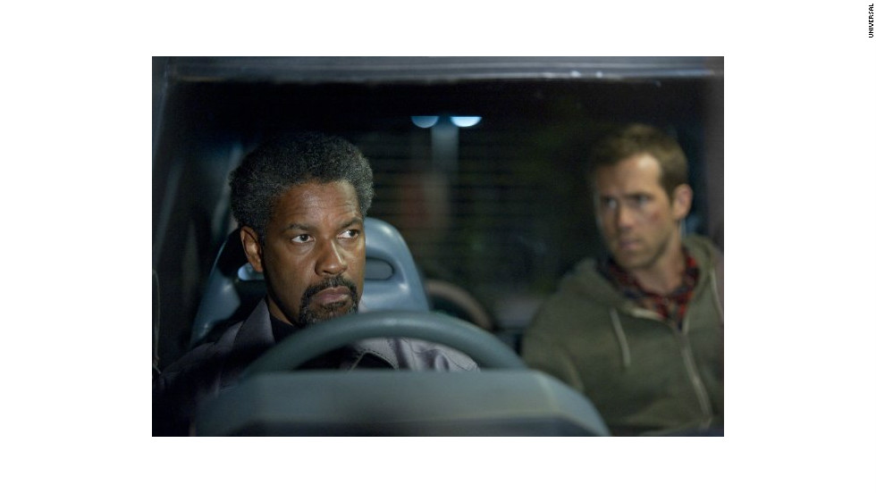 """Safe House"" (2012), starring Denzel Washington and Ryan Reynolds."