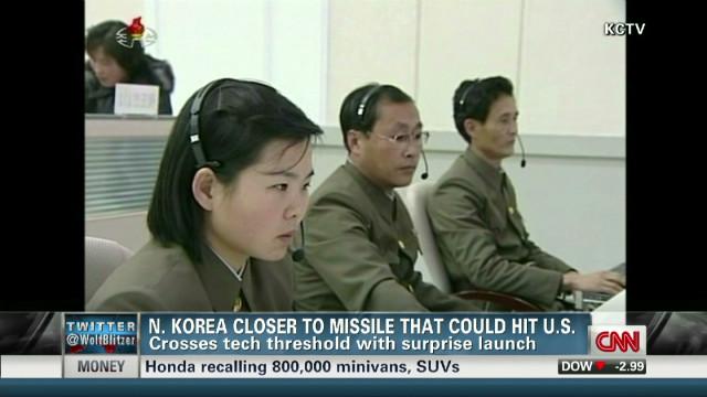 North Korea launch: Kim's power