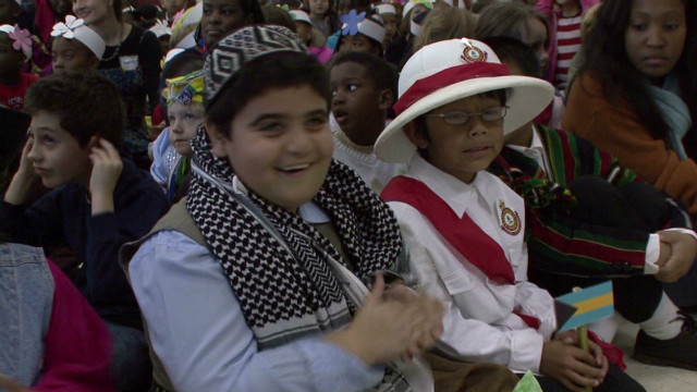 School focuses on peace lessons