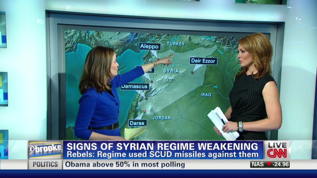 Signs of Syrian regime weakening
