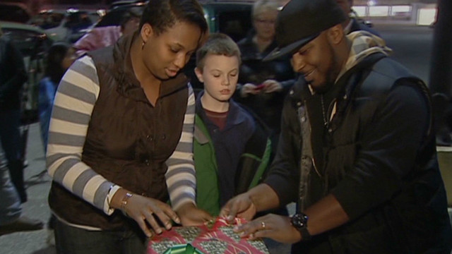 Act of kindness helps family's Christmas