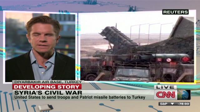 U.S. troops, missiles to Turkey