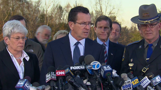Gov. Malloy: Evil visited community today