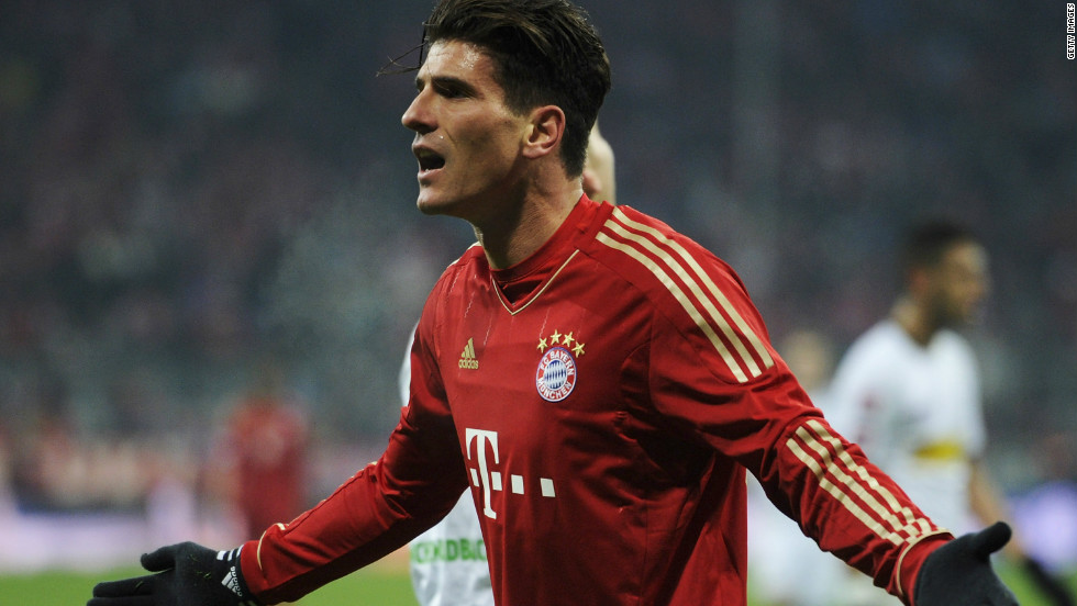Last season's top scorer Mario Gomez replaced Mario Mandzukic after the interval, and was involved as Bayern drew level on the hour mark.