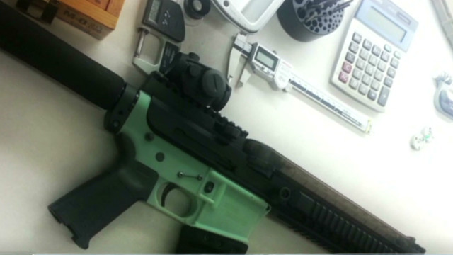 2012: Could 3-D printers make a gun?