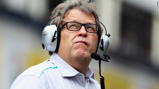 German Norbert Haug became head of Mercedes-Benz motorsport in 1990.