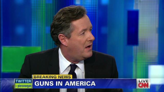 Piers Morgan, guests debate gun control