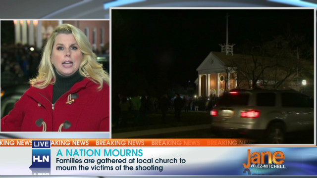 Candlelight vigil in Newtown