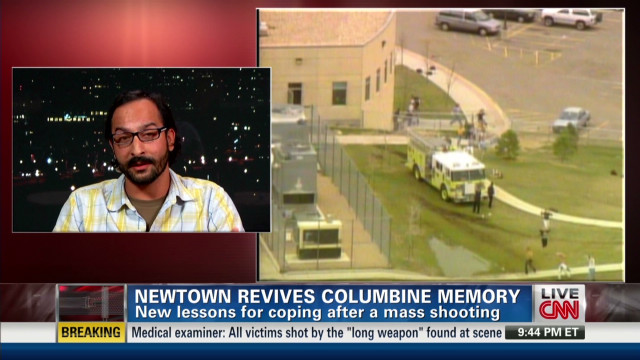Newtown revives Columbine memories
