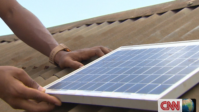 Solar power facilitates learning