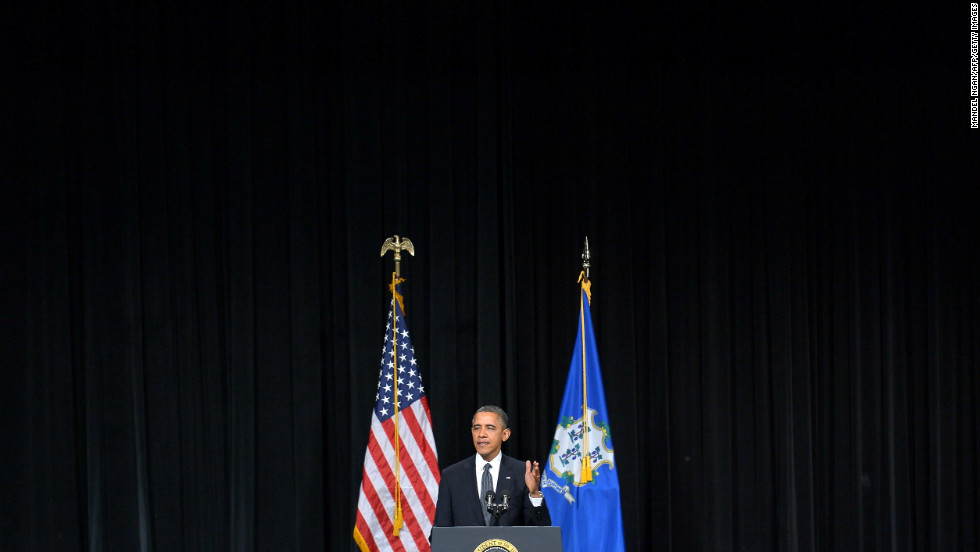 """Newtown, you are not alone,"" the president said."