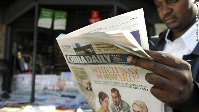 China Daily's Africa edition is the latest Chinese media venture on the continent.