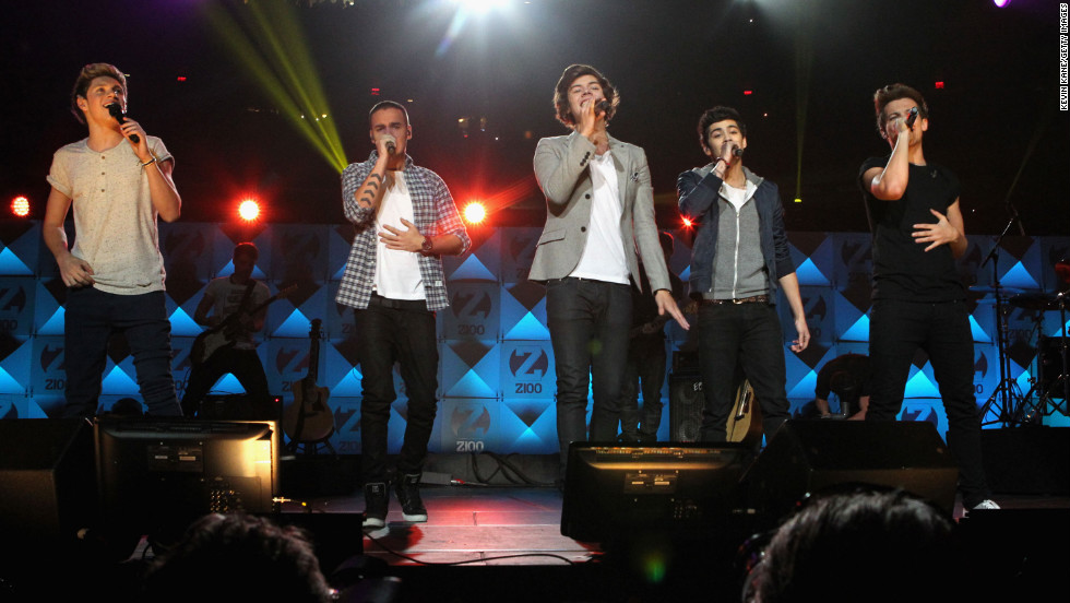 "No. 10 on the list is One Direction's ""What Makes You Beautiful."" The track is the first single off the English-Irish boy band's debut studio album, ""Up All Night."" Their second studio album, ""Take Me Home,"" was released in November 2012."