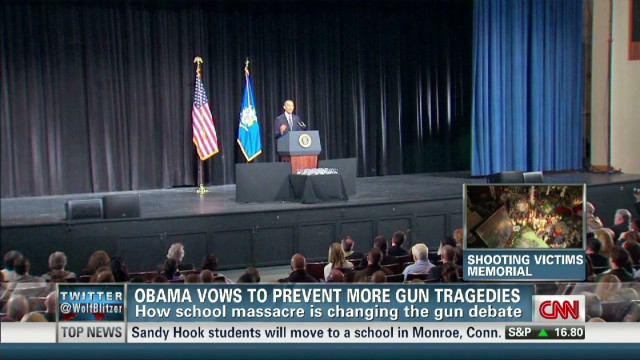 Obama vows to prevent more gun tragedies