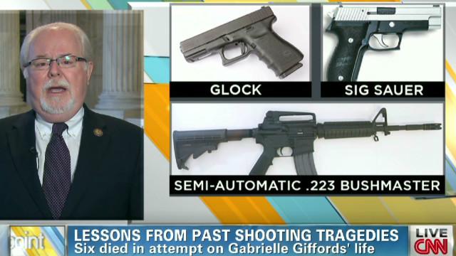 Rep. Barber on gun control legislation
