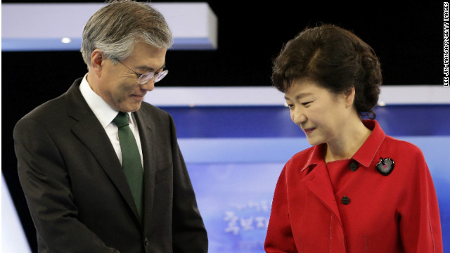 Either Moon Jae-in or Park Geun-hye will be elected as South Korea's next president Wednesday.