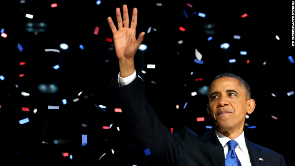 "<strong>Most retweeted: Barack Obama: </strong>Barack Obama's tweet on winning the U.S. presidential election, <a href=""https://twitter.com/BarackObama/status/266031293945503744"" target=""_blank"">""Four More Years</a>,"" accompanied with a picture of him hugging his wife Michelle, was the year's most retweeted, according to Twitter. It was retweeted more than 810,000 times and made a favorite more than 300,000 times."