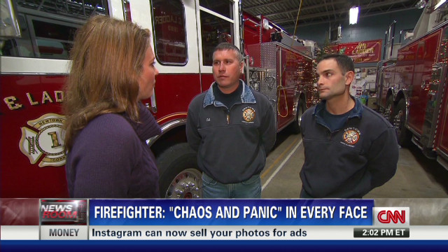 Responders: Scene 'emotional, chaotic'