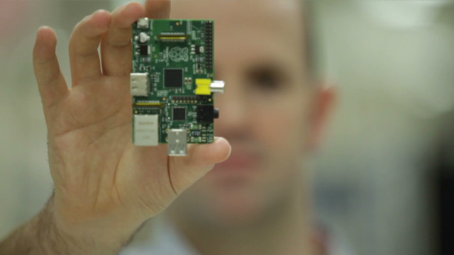 Watch Raspberry Pi inventor on MCI