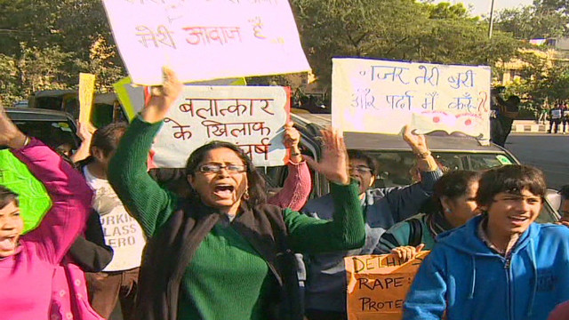 Outrage over suspected India gang rape