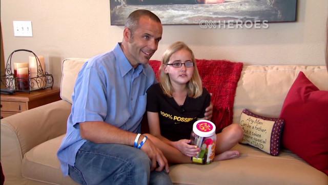 Girl's idea brings joy to sick kids
