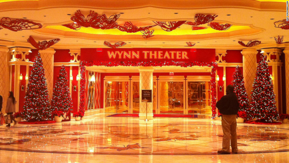 Wynn Theater entrance at the Wynn Casino
