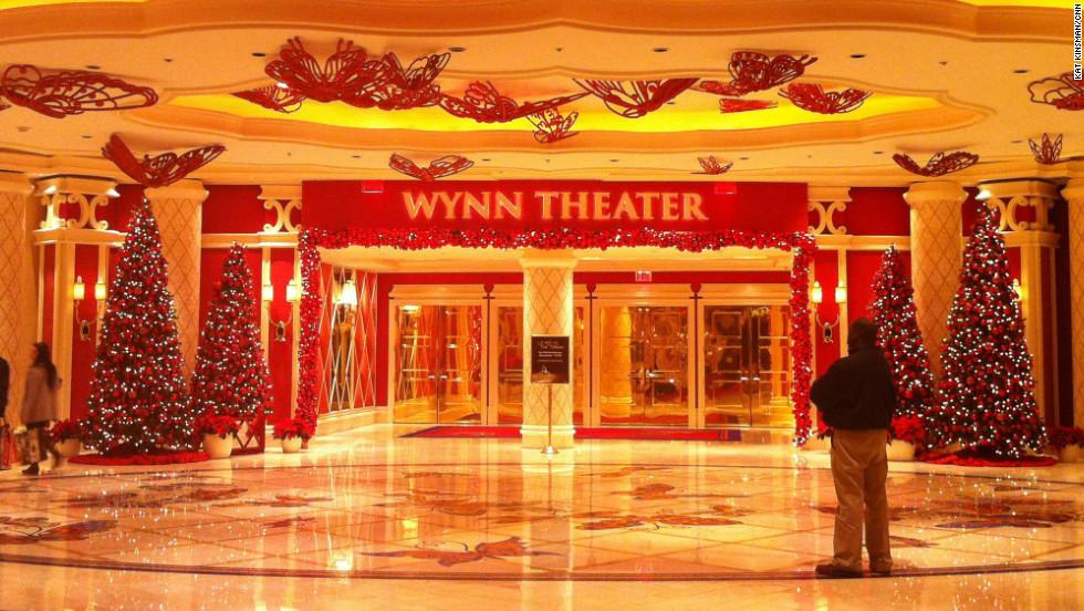 Wynn Theater entrance at the Wynn Casino