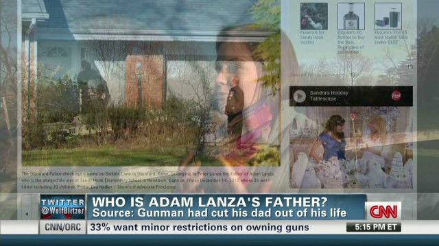 Source says Lanza cut dad out of his life