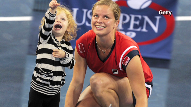 Clijsters reflects on career, family