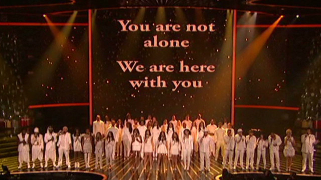 'X Factor' features Newtown tribute