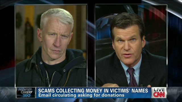 Scams use Sandy Hook victims' names