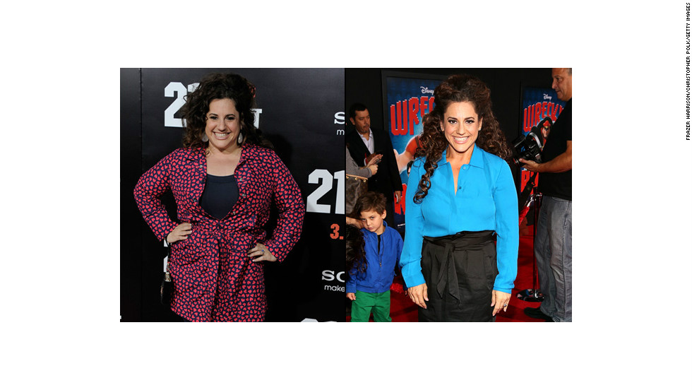 "There's no way Marissa Jaret Winokur could play ""Hairspray's"" zaftig Tracy Turnblad these days. The Tony-award winning actress dropped 60 pounds in 2012."
