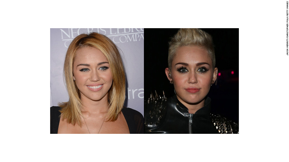 """Oh wily Miley. We have watched you morph this year from a former Disney star to a harder-edged rocker type who <a href=""""http://www.cnn.com/video/#/video/showbiz/2012/12/11/sbt-miley-cyrus-concert.hln"""" target=""""_blank"""">performs with strippers</a>. What would Hannah Montana say?"""