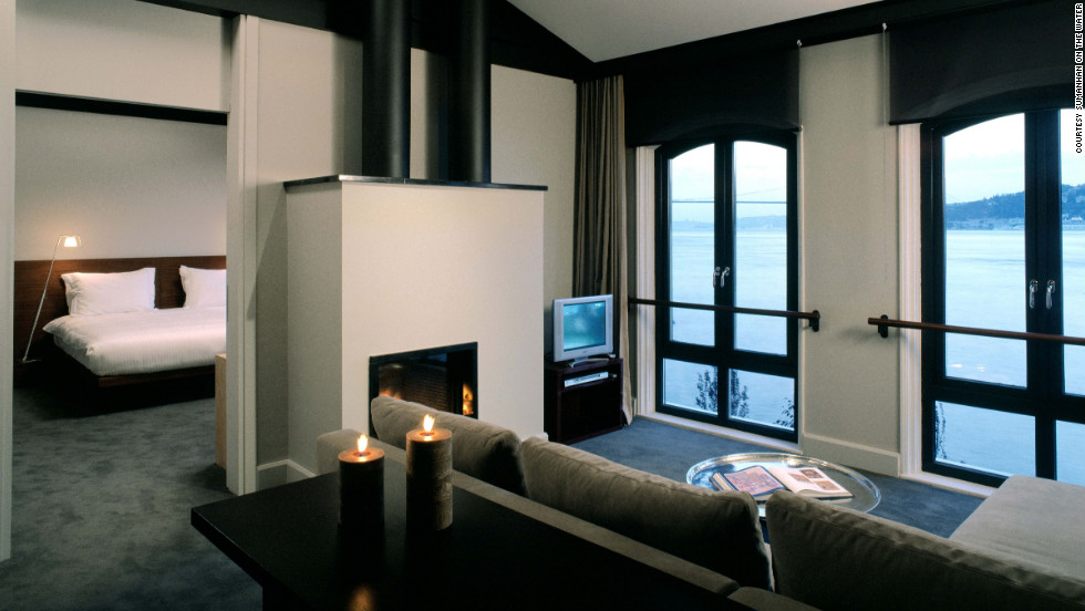Quiet and elegant, Sumahan on the Water is located on the Asian side of Istanbul, away from the bustling tourist scene on the city's European side.