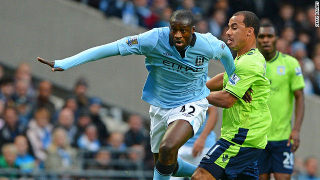 Manchester City and Ivory Coast midfielder Yaya Toure was named African Player of the Year once again.